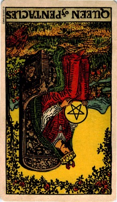 PENTACLES Rebirth13 QUEEN