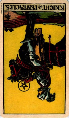 PENTACLES Rebirth12 KNIGHT