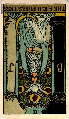 2 THE HIGH PRIESTESS Rebirth