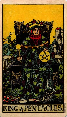 PENTACLES14 KING
